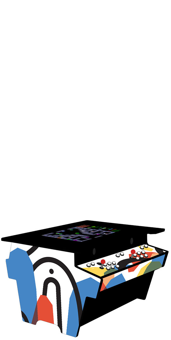 Table arcade 2 joueurs