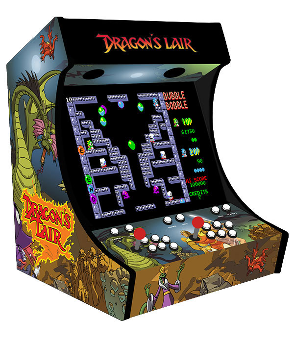 Bartop raspberry Dragon's lair